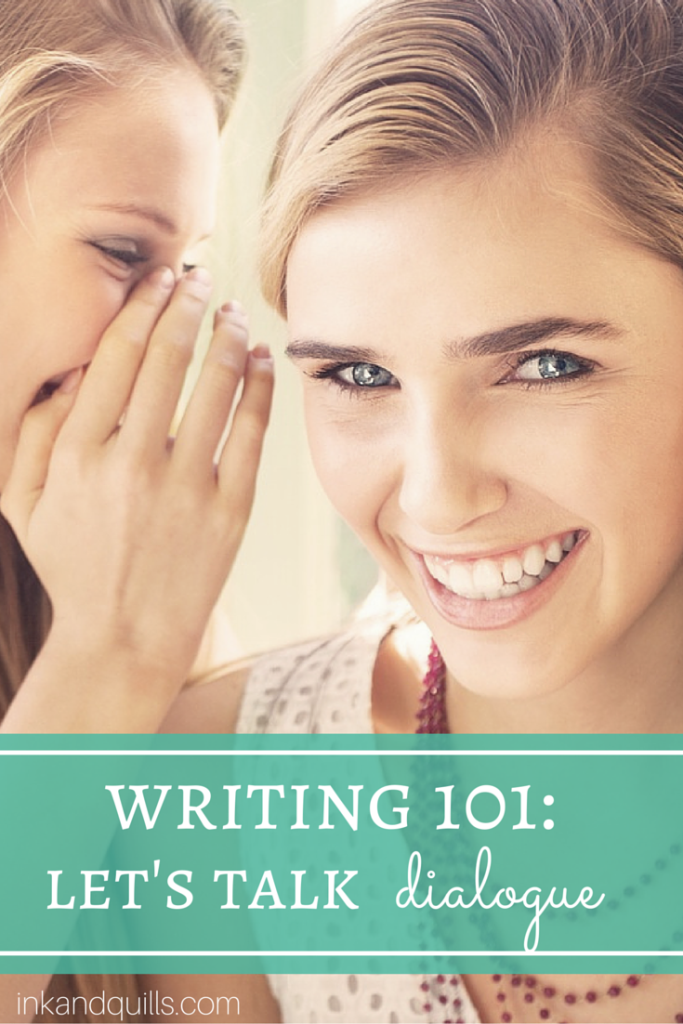Premise Indicator Words: Writing 101: Let's Talk Dialogue