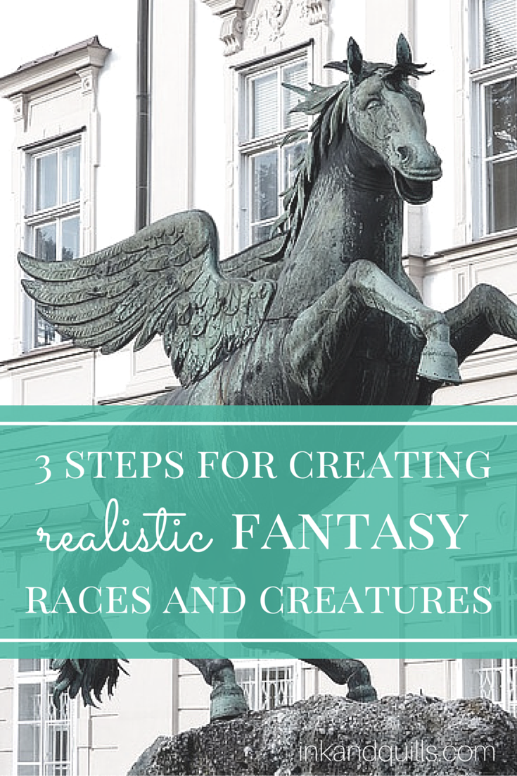 3 Steps For Creating Realistic Fantasy Races And Creatures Ink And Quills